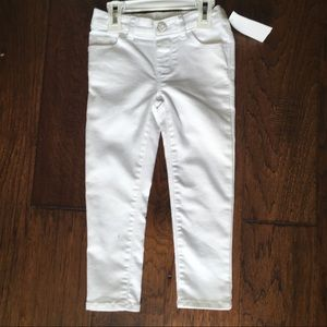 Oshkosh Baby Stretchy Jeans In White - Size 3T
